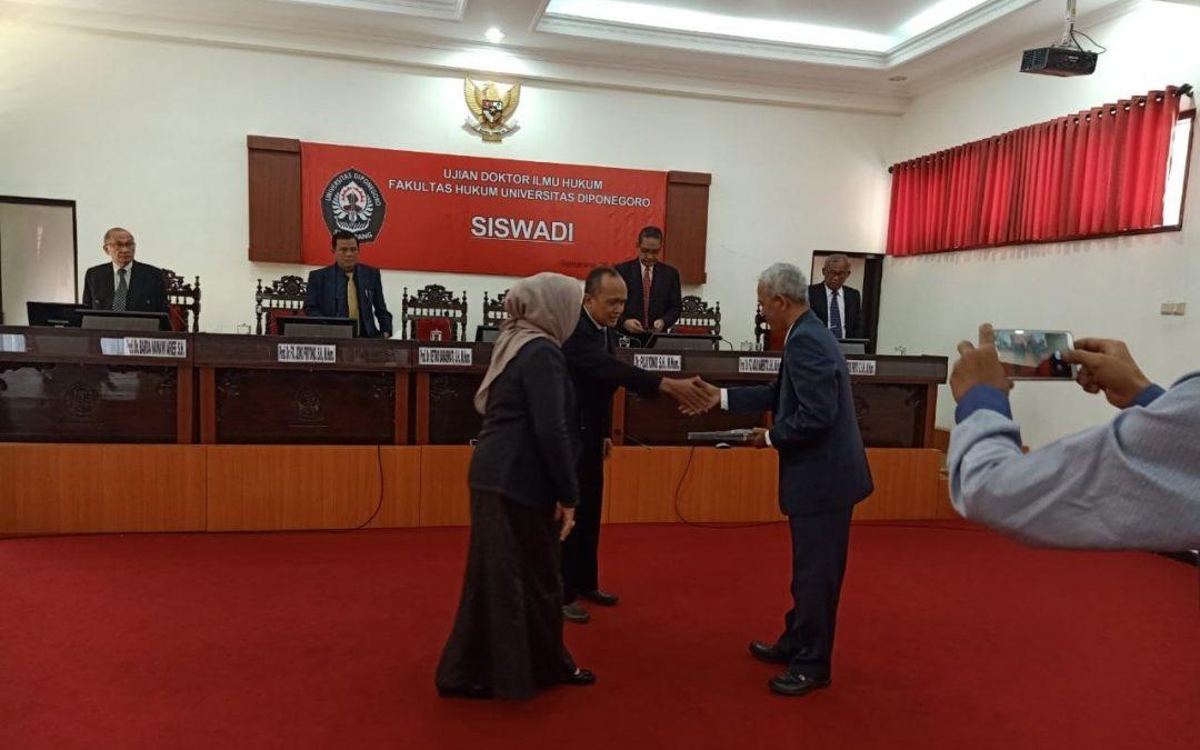 Dosen Fakultas Hukum UPB Raih Gelar Doktor