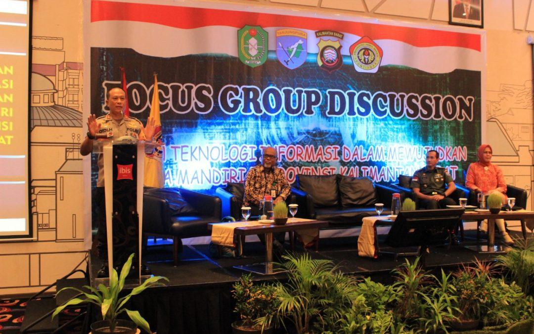 FGD Bentuk Inisiasi Kerjasama UPB dengan Polda Kalimantan Barat
