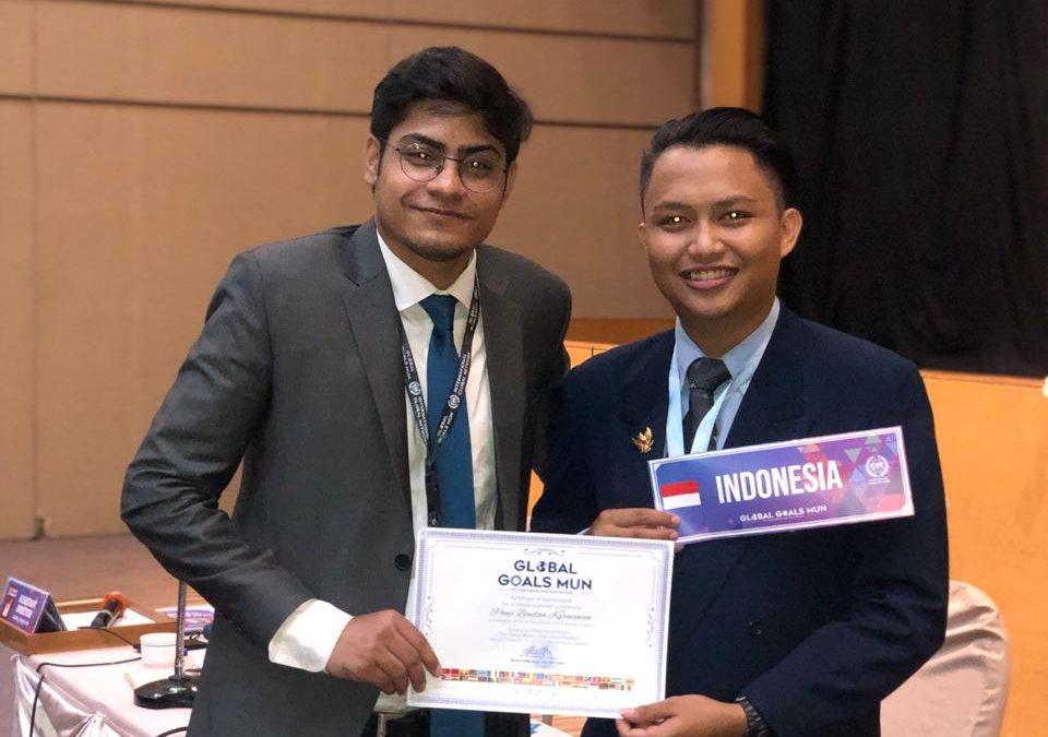 Ketua Delegasi Indonesia, Panji Bondan Kurniawan Mahasiswa UPB