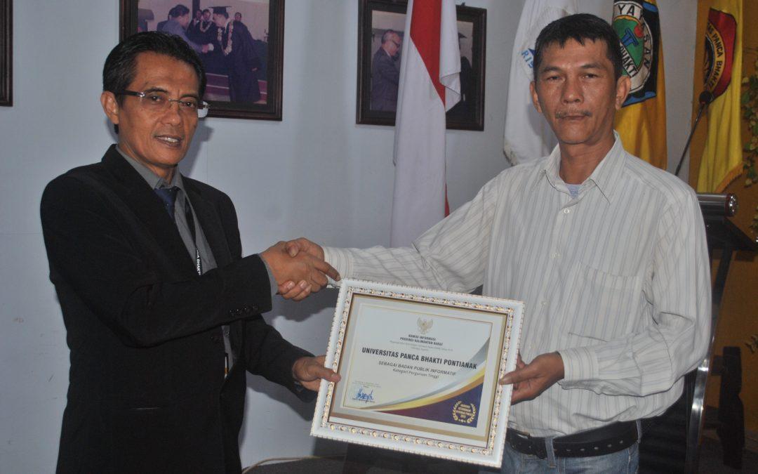 UPB Raih Kategori A Perguruan Tinggi Informatif