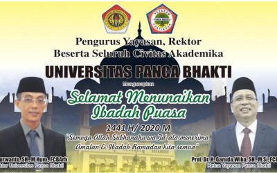 Seluruh Civitas Akademika UPB Ucapkan Selamat Menjalankan Ibadah Puasa Ramadhan 1441H