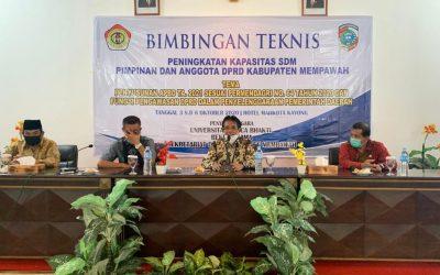 UPB Gelar Bimtek Bersama DPRD Mempawah