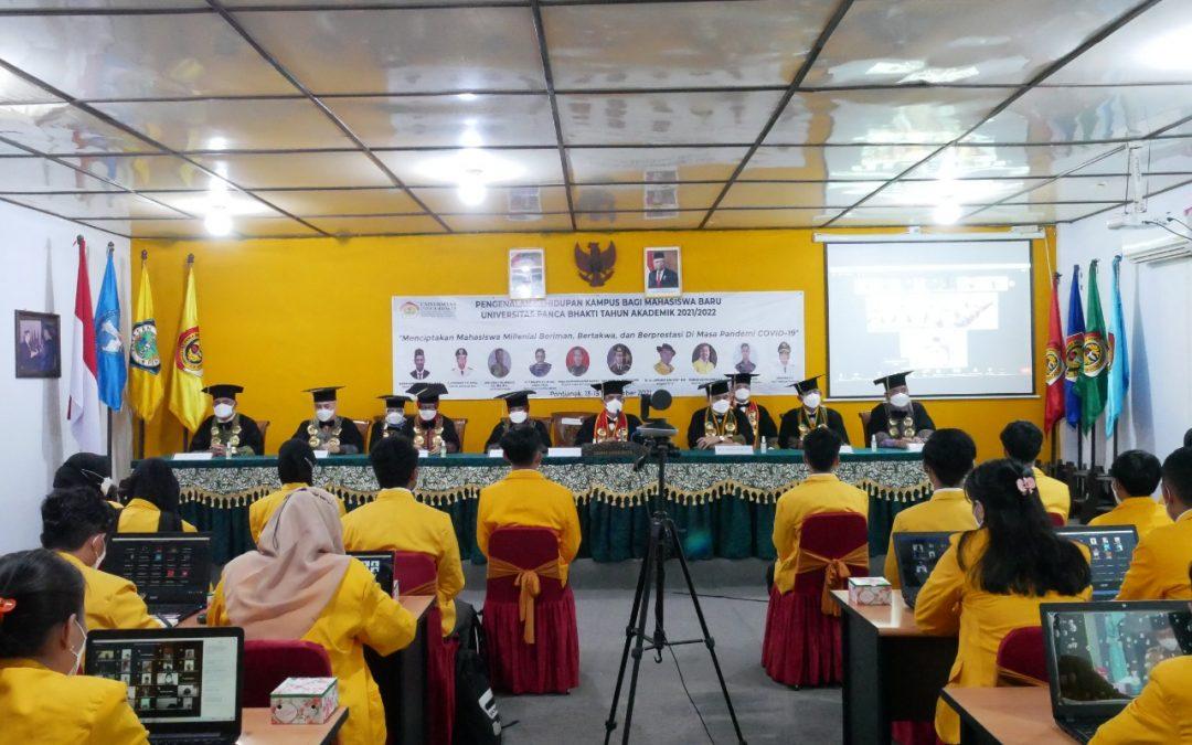 Kegiatan PKKMB UPB 2021 Dilaksanakan Secara Daring