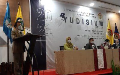 Yudicium XXXIII Periode 2 dan Pembukaan KP-KKN Prodi Teknik Sipil Fakultas Teknik UPB
