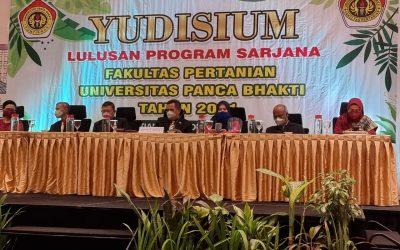 Yudicium Tahun 2021 Fakultas Pertanian Universitas Panca Bhakti